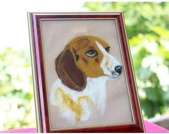 Beagle Felting Needle