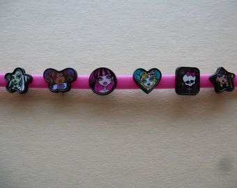 5 pearls monsters monster girls characters to put on kids bracelet