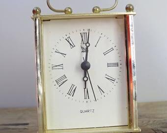 Vintage Quartz Table Clock
