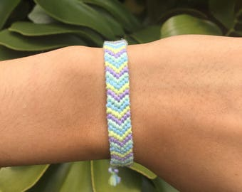 Chevron Friendship Bracelet: COVE