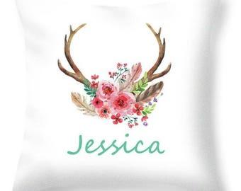 Jessica Personalised Name Cushion