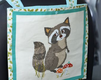 "glove auto car bag ""raccoon"""