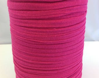 Large fuchsia pink Trapilho Jersey stretch coil