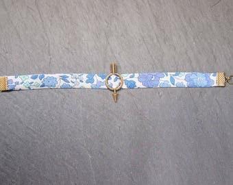 Bracelet liberty blue - arrow