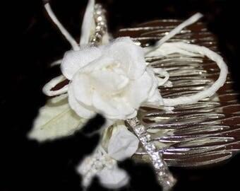 WEDDING COMB WHITE