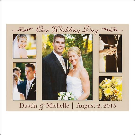 Wedding Photo Frames: Personalized Wedding Frame Wedding Collage Our Wedding