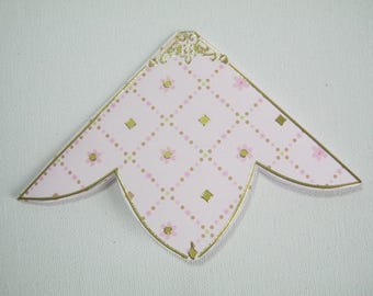 Soft pink, bookmark