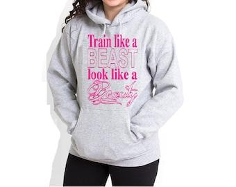 Beast,California Designs Women Sweatshirt Pullover Hoodie