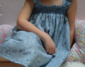 Libertykatie milie and smocked dress