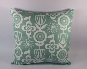 NEW! Square Cushion cover, vintage print.
