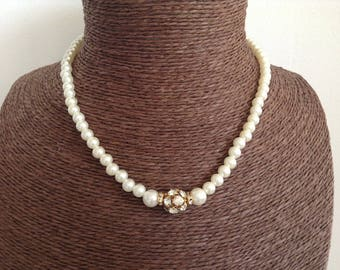 Chinese Crystal and imitation pearls