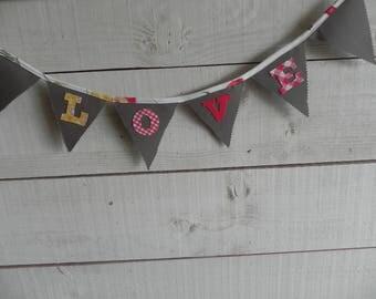 Valentine GARLAND N 4 fabrics