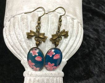 "Earrings ""cherry blossom"""