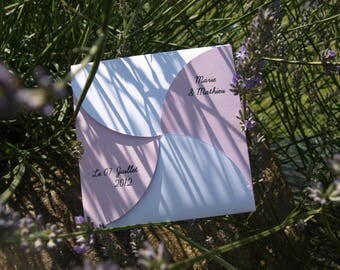 Original wedding invitation