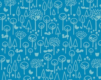 Scenic Route in Blue by Deena Rutter for Riley Blake Designs, 100% Cotton Fabric. Quarter Yard, Half Yard, By the Yard C3663-Blue