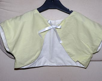 Girls Bolero perfect for ceremony