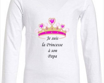 Kids t-shirt funny text, I'm Daddy's Princess