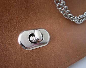 Fermoir de sac à main, Tourniquet ovale pour sacs argent