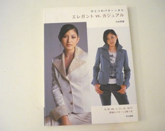 Elegant Casual VS book - Japanese sewing book
