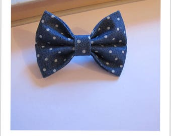 "hair bow ""clip - me"" jeans with polka dots"