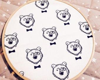 Frame fabric customizable birthday gift
