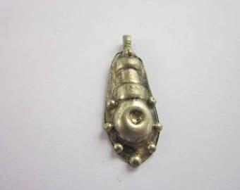 Vintage Steampunk Retro Silver Necklace Pendant