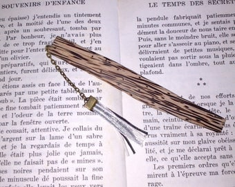 Palm wood bookmarks