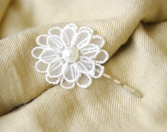 Hair clip Bobby pin in tulle