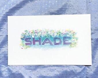 Shade Print