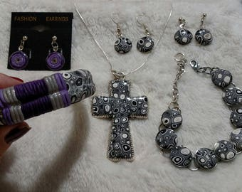Retro Cross & Bracelet Collection