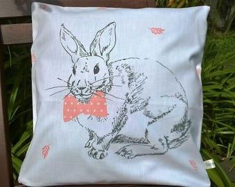 "Cover cushion 40 x 40 ""bowtie Bunny"""