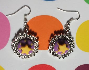 """Earrings """"Trapeze"""" for small and large acrobats"""