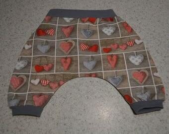 Kids harem pants size 3 months made hand