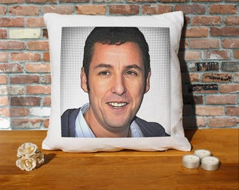 Adam Sandler Pillow Cushion - 16x16in - White