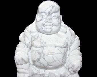Statuette bouddha chinois rieur en howlite 5cm