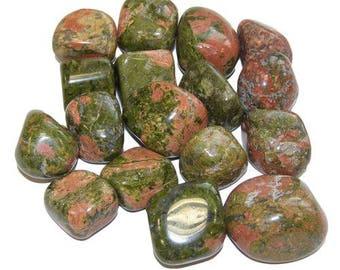 Rolled stone unakite 2-3cm