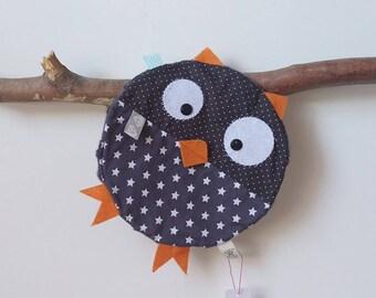Flat plush OWL!
