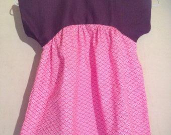 Short sleeve blouse/tunic