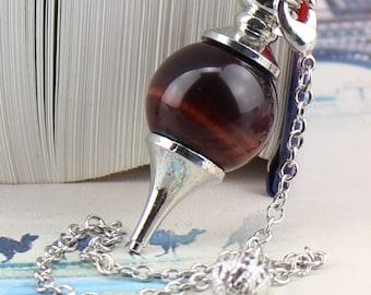 1 pendant and pendulum eye taureau18 mm + chain