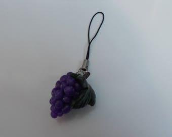 Laptop/strap attachment - grape vine