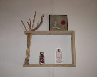 zen, natural driftwood and pallet shelf, home decor, recycling