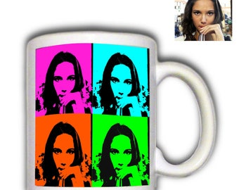 Mug personalized with artistic effect