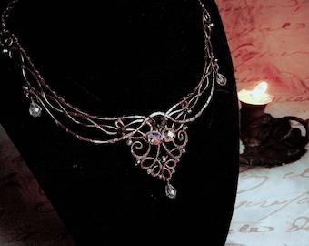 Elvish fantasy necklace