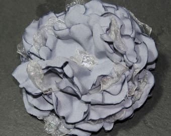 Fabric Flower Brooch/Corsage/Hair accessory
