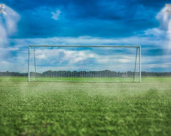 Soccerfield Digital Backdrop with png layer