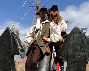 SALE! Man or woman available pirate costumes