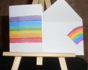 Mini Rainbow card