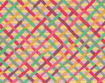 Multicolor patchwork Kaffee Fasset fabric
