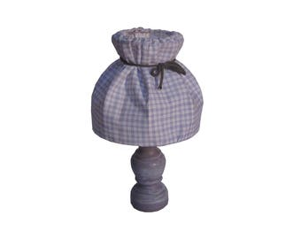 Small table lamp makeover old violet