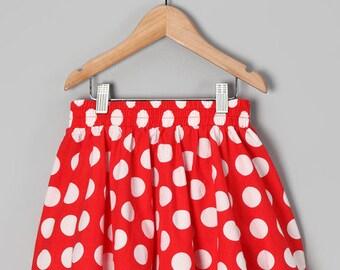 Red Dot Skirt